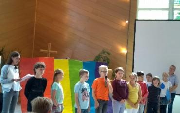 Abschiedsgottesdienst der vierten Klassen