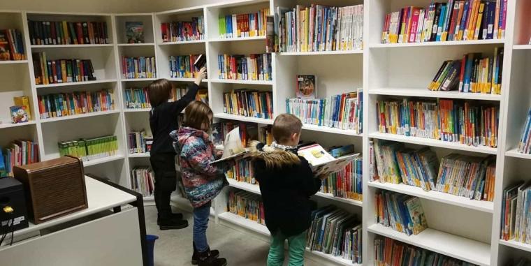 Renovierung der Schulbibliothek