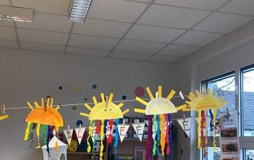 Klasse 1A: Wir warten auf die Sonne ☀