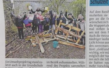 Die 4b in der Westdeutschen Zeitung