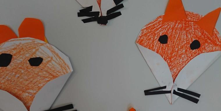 Die Füchse sind los: Die Kinder der 2b starten in die Herbstzeit!