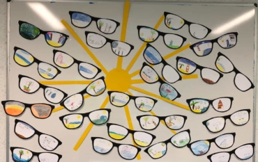 Ferienbrillen der Klasse 2A