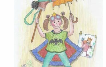 """Die ELMARs der Klasse 2A werden zu Superhelden und Superheldinnen und sagen dem Virus den Kampf an💪 -angelehnt an das Bilderbuch """"Lilly und der komische Virus"""""""